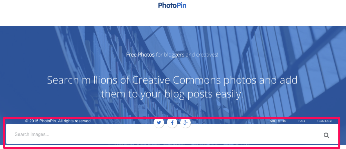 PhotoPin Free Photos for Bloggers via Creative Commons