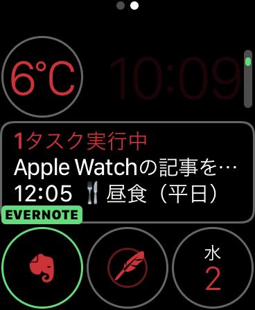 Apple Watch文字盤カスタマイズ